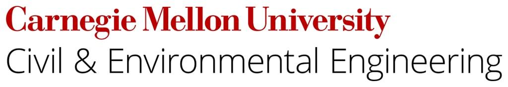 Carnegie Mellon University Civil & Environmental Engineering